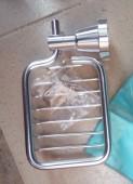 Aluminium Basket Soap Holder