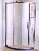 Champagne Aluminium Shower Enclosure