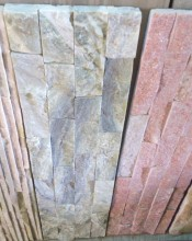 15 x 60mm Natural Stone Cladding Wall Tile