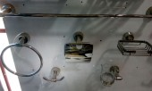 Complete Set Bathroom Accessories (Stainless)