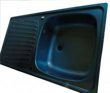 Single Bow-Single Tray Kitchen Sink (860x500mm)