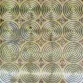 33cm x 33cm Gold (Mosaic) Tile 1