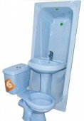Twyford Complete Set WC with BathTub