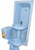 Twyford Complete Set WC with BathTub