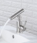 360 Degrees Turn Universal Wash Hand Basin Tap - Hot and Cold