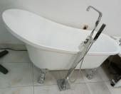 Animal Leg Freestanding Bathtub (All White)