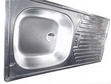 Single Tray-Single Bow Kitchen Sink (1000x500mm)