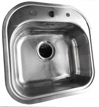 Only Bow Kitchen Sink 2 (400x400mm)