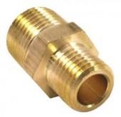 Reducing Brass Nipple - 3/4 x 1/2