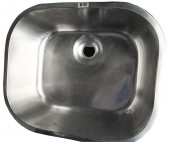 Emerald Plane England Only Bow Kitchen Sink (400x400mm)