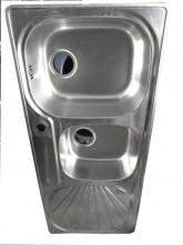 Kitchen Sink - Single Bow-MiniBow-Single Tray (1200x500mm)
