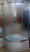 100x100cm Curved Shower Cubicle
