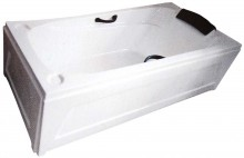 EMO Bathtub with Panel (Side View)