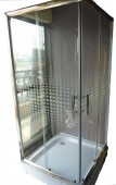 Designer Transparent Shower Enclosure