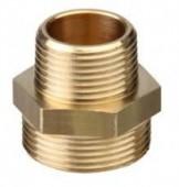 Reducing Brass Nipple - 1inch x 3/4inch