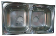 Topaz Bow-Bow kitchen Sink (850x500mm)